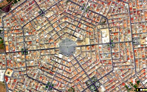 Thị trấn hình lục giác đầu tiên ở châu Âu