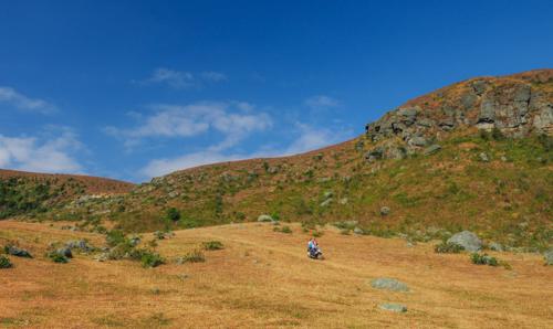 Cao nguyên Đồng Cao tại huyện Sơn Động, Bắc Giang là điểm đếnyêu thích của những người mê phượt.