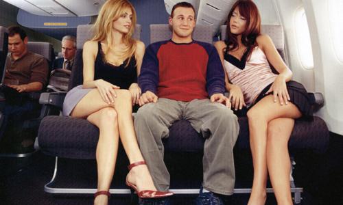 Không phải ai cũng sẵn sàng từ bỏ ghế ngồi mình đã mua vé trên máy bay. Ảnh:Old Spice.