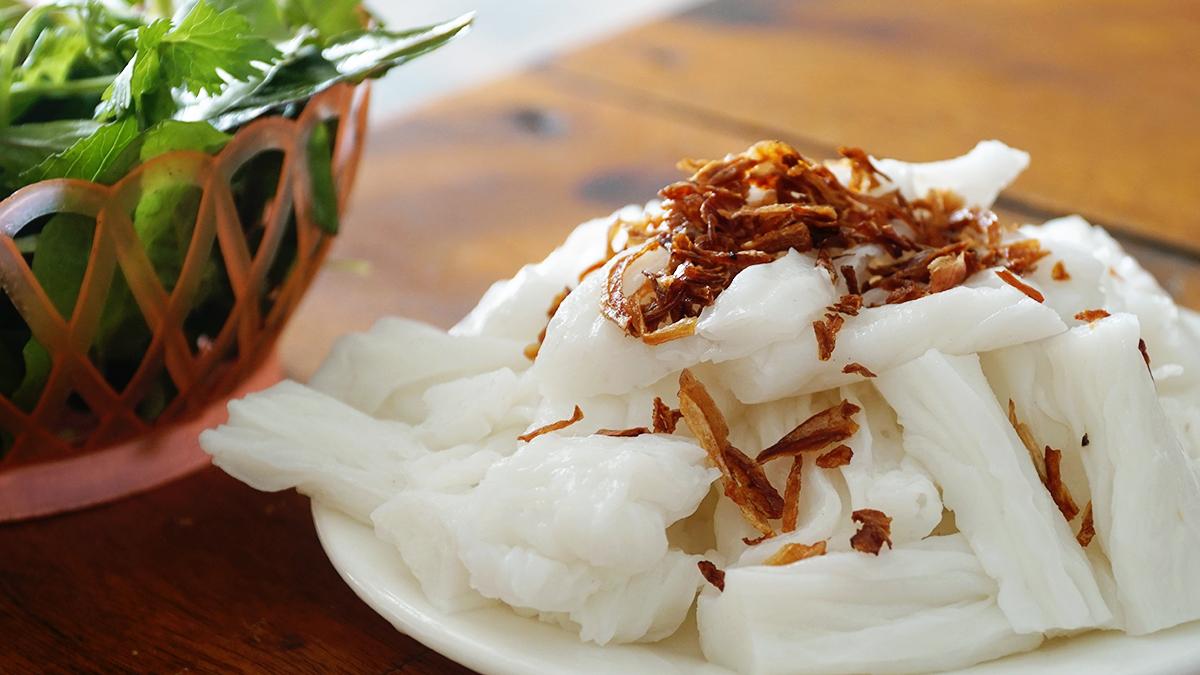 Nghệ An: Đặc sản bánh mướt hút hồn du khách