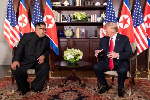 Căn phòng nơi Trump - Kim gặp nhau. Ảnh: Dan Scavino Jr.