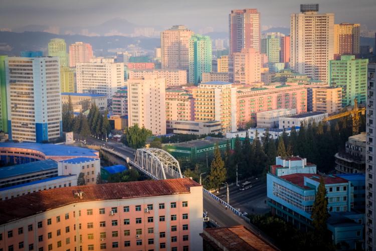Thủ đô Bình Nhưỡng là điểm dừng chân trong các tour đến Triều Tiên. Ảnh: Ngô Quang Minh.