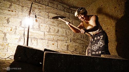 Năm 1986, các hoạt động khai thác bị dừng lại. Mỏ đá sau đó được sử dụng như một phần của bảo tàng.