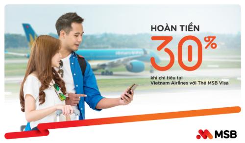 MSB Visa Travel ưu đãi hoàn tiền tới 30% phí cho khách du lịch hè  - 1