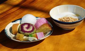 Tiệc buffet hơn 20 loại bánh làm từ bột gạo chỉ có ở miền Tây