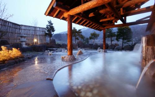 Tắm suối nước nóng Onsen và thưởng ngoạn hoa anh đào nở rộ là một trải nghiệm mà du khách không thể bỏ qua khi đến Nikko. Ngâm mình trong dòng nước nóng trên 40 độ của Onsen ngoài trời và ngắm nhìn hoa anh đào nở rộ chắc chắn không chỉ giúp du khách thư giãn mà còn mang lại một cảm giác mới lạ. Du khách có rất nhiều sự lựa chọn ở Nikko Kinugawa Onsen với rất nhiều khách sạn với suối nước nóng trong nhà và ngoài trời.