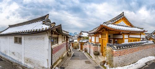 Làng cổ Bukchon Hanok là làng đẹp nhất ở Hàn Quốc.