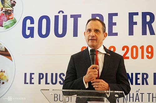 Tổng lãnh sự Pháp Vincent Floreani.