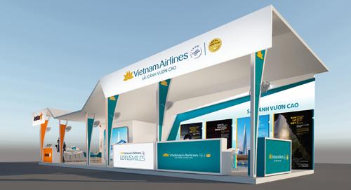Vietnam Airlines là nhà tài trợ vận chuyển tại Travel Fest.
