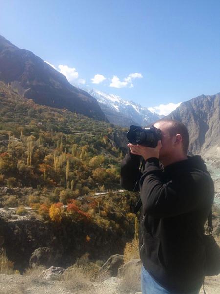 Tarrant chụp ảnh tại Pakistan vào năm 2018. Ảnh:Facebook.