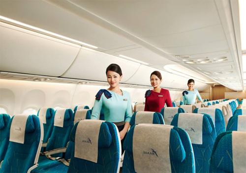 SilkAir thường có hai hạng ghế cơ bản là hạng phổ thông và hạng thương gia.