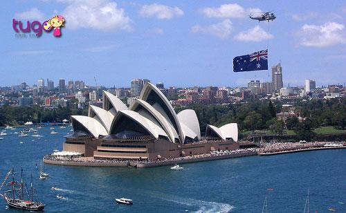 Tháng 5 chính là thời điểm thích hợp nhất để du lịch Australia.
