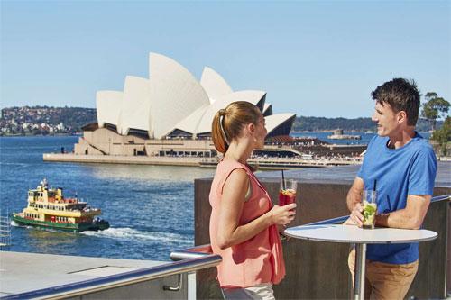 Trang phục mỏng nhẹ phù hợp cho chuyến du lịch Australia mùa thu. Ảnh: Sightseeing Tour Australia.