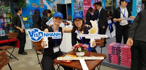 Tham dự chương trình, SP Travel đem tới hội chợ trên 5.000 sản phẩm gồm tour du lịch giá rẻ, voucher,