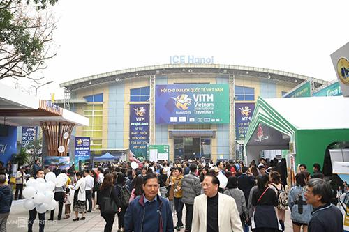 Hội chợ diễn ra từ ngày 27 đến 30/3. Ảnh: Kiều Dương.