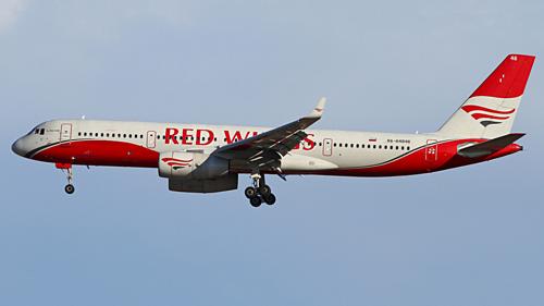 Máy bay hãng hàng không Red Wings. Ảnh:Victor/Flickr.