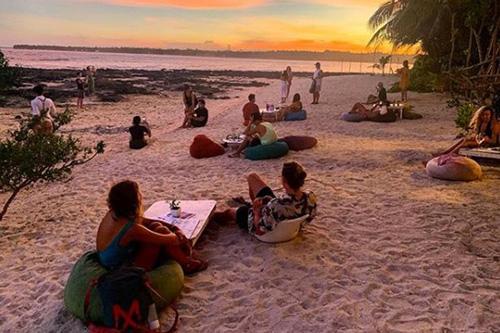 Khách sạn có địa điểm ngắm bình minh được đánh giá là tuyệt đẹp tại Philippines. Ảnh: Mirror.