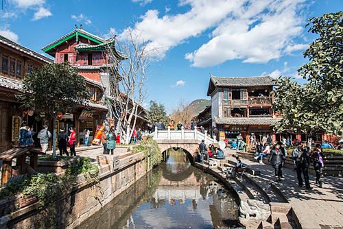 Lệ Giang là điểm du lịch nổi tiếng ở Vân Nam, Trung Quốc. Ảnh: Wiki.