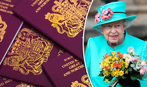 Ngoài hộ chiếu, nữ hoàng cũng lái xe mà không cần bằng. Vì bằng lái ở Anh cũng được cấp phép nhân danh bà. Ảnh: Daily Express.