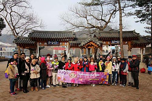Đoàn khách Tugo đi Hàn Quốc.