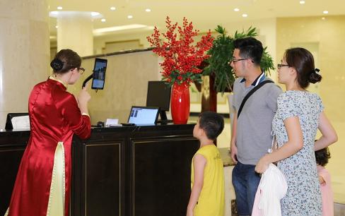Khách sạn đầu tiên sử dụng công nghệ nhân dạng mặt du khách
