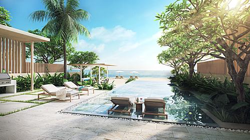 Các khu nghỉ dưỡng ven biển luôn hấp dẫn du khách.