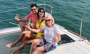 Hà Anh đưa mẹ chồng nghỉ dưỡng trên du thuyền sang trọng
