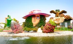 Vườn hoa lớn nhất thế giới giữa lòng sa mạc