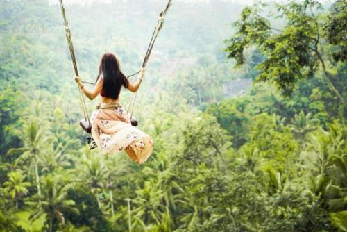 Bali Swing - trò đánh đu đẹp tựa thiên đường khiến du khách ầm ầm