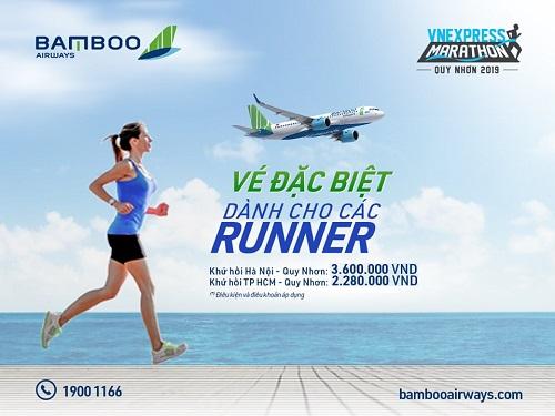 Nhà tài trợ vận chuyển Bamboo Airways dành