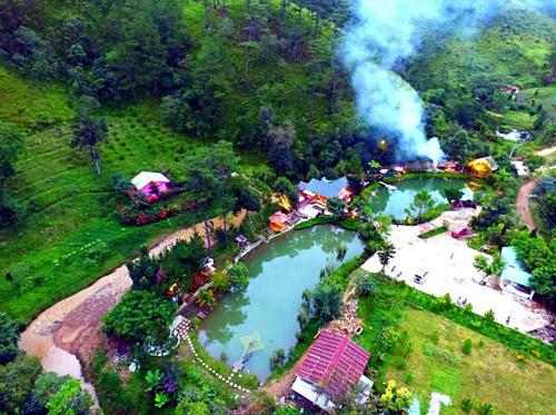 Ma rừng lữ quán là địa điểm du lịch nổi tiếng ở Đà Lạt. Ảnh: Hanoi Tourism.