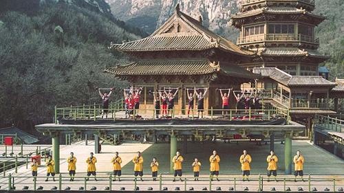 Võ phái Thiếu Lâm nổi tiếng với các chiêu thức như Dịch Cân Kinh, Thập bát La Hán chưởng... Ảnh: Lesmills.