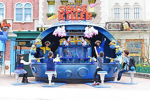 Universal Studios với những nhân vật ngộ nghĩnh như Minions, siêu anh hùng. Ảnh: Pinterest.