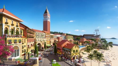 Bến cảng phồn hoa Sun Premier Village Primavera sôi động ngay ga đi cáp treo Hòn Thơm.