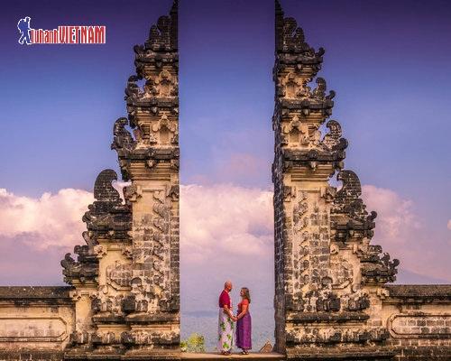 Đền Pura Lempuyang là địa điểm check in hot.
