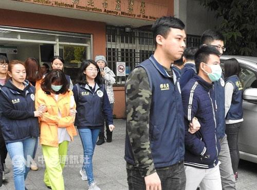 Đài Loan tìm bắt các khách Việt bỏ trốn hồi cuối năm ngoái. Ảnh: