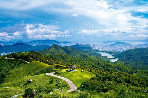 Đường MacLehose là cung đường trekking dài 100km ở Hong Kong. Ảnh: Bay Area.
