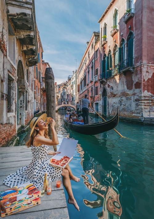 Thành phố Venice.