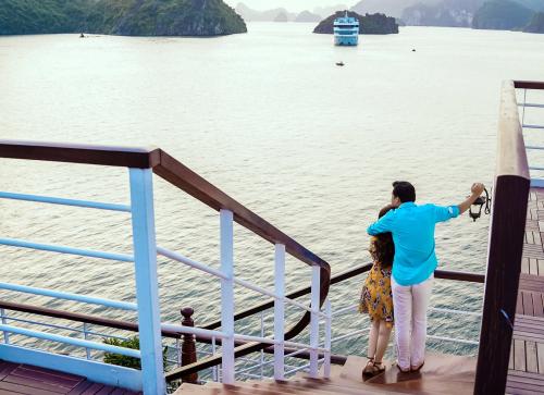 Gia đình Đan Lê đi nghỉ trên du thuyền Sealife Legend - 9