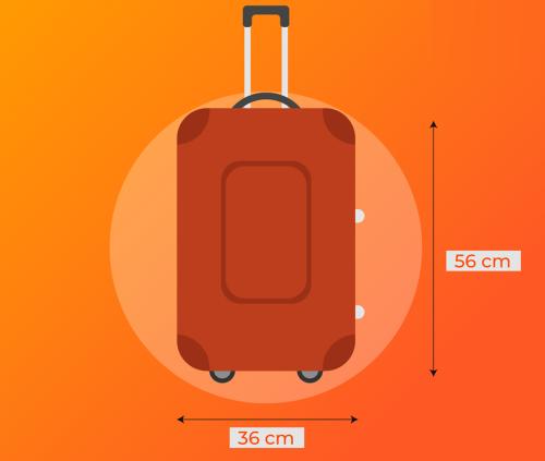 Mỗi hãng có những quy định khác nhau về hành lý xách tay khi đi máy bay. Ảnh: Jetstar.com.