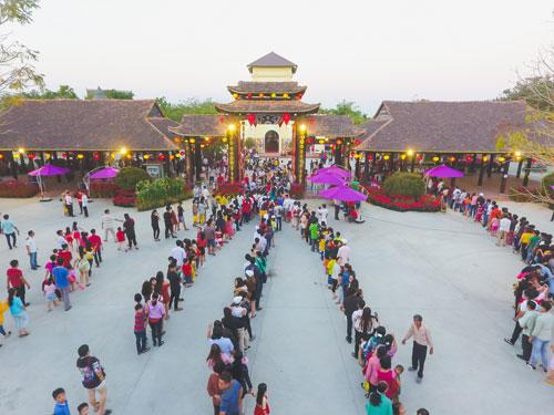 HappyLand - nơi diễn ra chương trình Hội ngộ Kỷ lục gia Việt Nam (lần thứ 38 năm 2019).