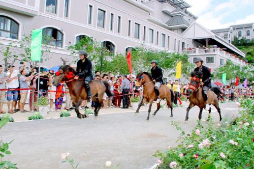Những khoảnh khắc thú vị trong giải đua ngựa ở Fansipan - 3