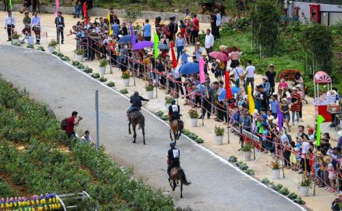 Những khoảnh khắc thú vị trong giải đua ngựa ở Fansipan - 4
