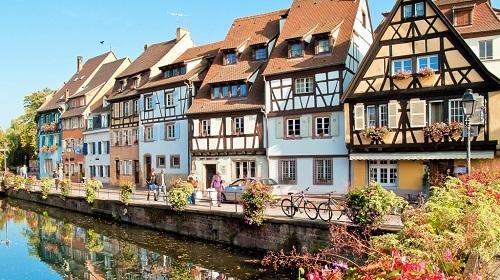 Một góc thơ mộng ở thị trấn Freiburg. Ảnh: The Culture Trip.