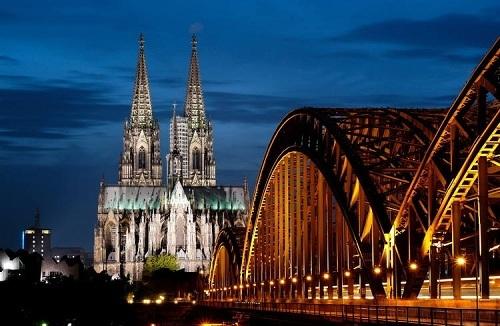 Nhà thờ đôi nổi tiếng của Đức.Ảnh: WHC UNESCO.