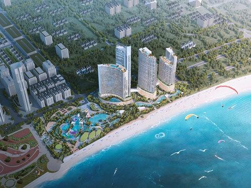 SunBay Park Hotel & Resort Phan Rang sở hữu 3.300 phòng khách sạn tiêu chuẩn 5 sao quốc tế.