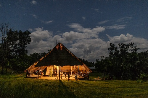 Maloka là nơi tập trung của người Tikuna và cũng là nơi tổ chức nghi lễ Pelazón.
