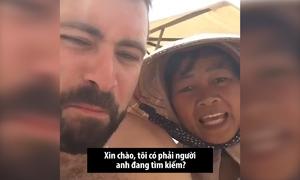 Người bán rong nổi tiếng nhờ hát cho khách Tây trên bãi biển Việt