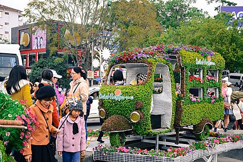 Mỗi ngày một chủ đề hoa tại Festival hoa Đà Lạt 2019