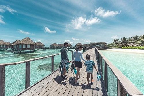 Với những dịch vụ độc quyền, Club Med Kani là khu nghỉ dưỡng lý tưởng cho kỳ nghỉ gia đình. Ảnh: CLub Med.